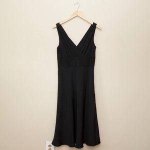 NWT J. Crew Black special occasion silk dress